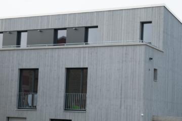 Fassaden- und Dachkastenanstrich